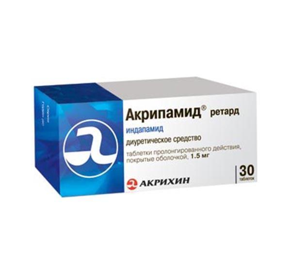Препарат Акрипамид не поражает другие ткани и органы