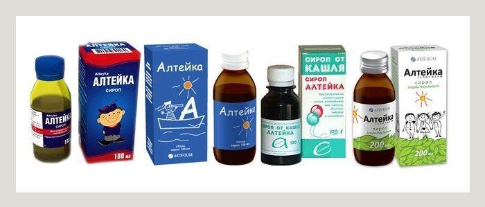 Препарат Алтейка для лечения ларингита