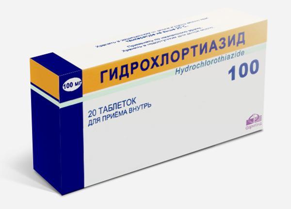 Препарат Гидрохлортиазид применяется для снижения артериального давления