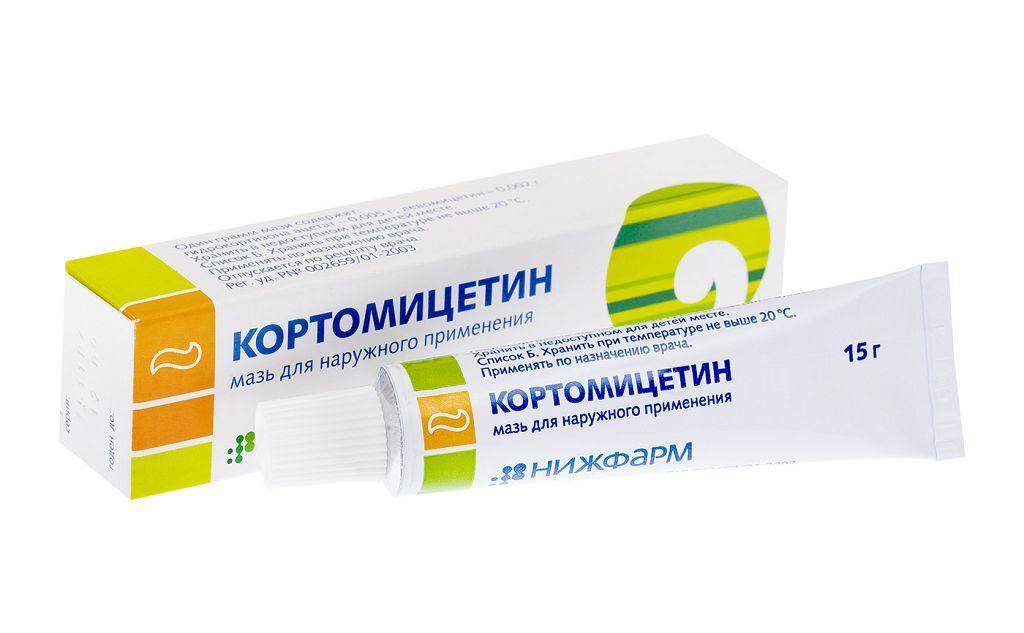 Препарат Кортомицетин для лечения дерматита на руках