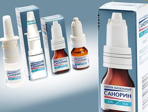 Препарат Санорин оказывает противомикробное и противовоспалительное действие
