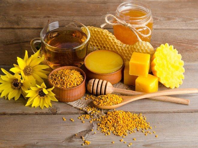 Продукция пчеловодства часто используются в борьбе с заболеваниями спины