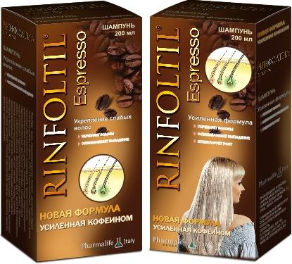 Ринфолтил с кофеином - эффективное средство для борьбы с алопецией