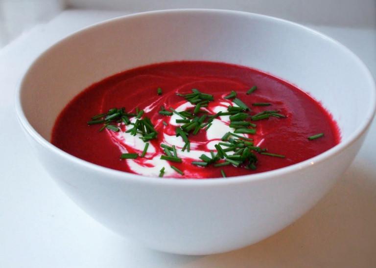 Свекольник вегетарианский для улучшения кровеносного давления
