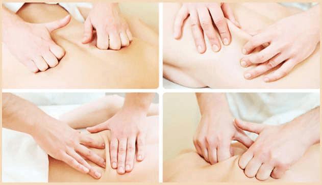 Техника массажа при грыже поясничного отдела