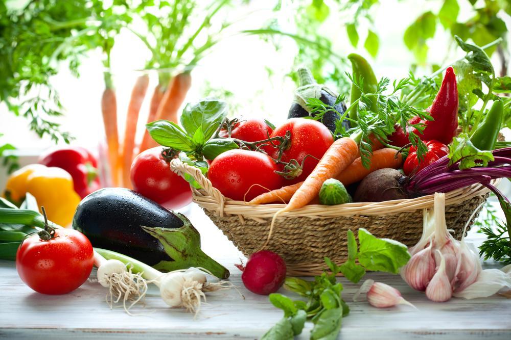 Употребление овощей при сухой экземе благотворно скажется на состоянии кожи