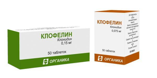 Форма выпуска препарата Клофелин