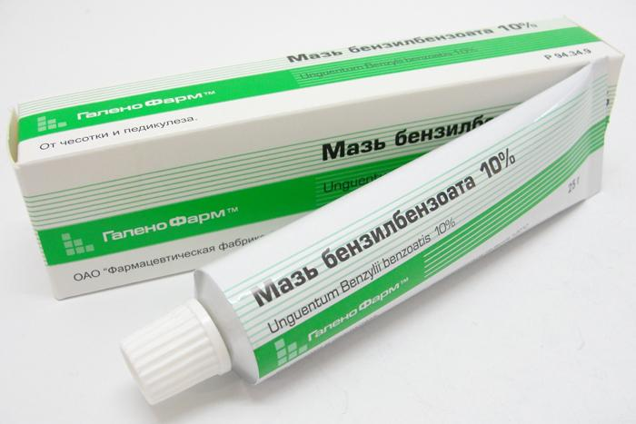 Бензилбензоат против паразитов 10%