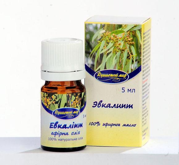 Масло эвкалипта для лечение насморка у новорожденных