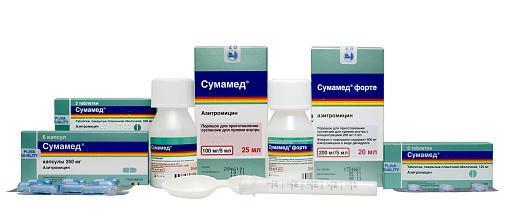 Форма выпуска препарата Сумамед