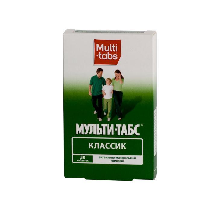 Витаминно-минеральный комплекс Мульти-Табс Классик
