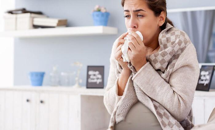 Беременный насморк и кашель