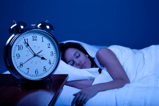 Recommended Sleep Time For Adults