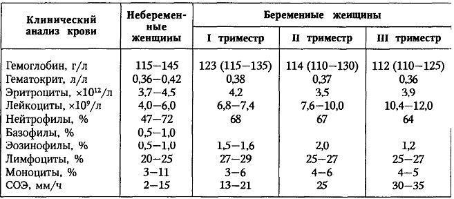 Анализы беременной в первом триместре 8