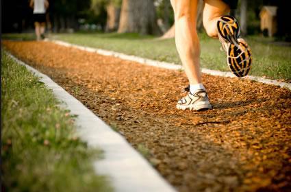 Бег для восстановления работы сухожилия