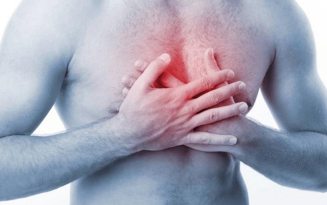 Боль в груди при миозите