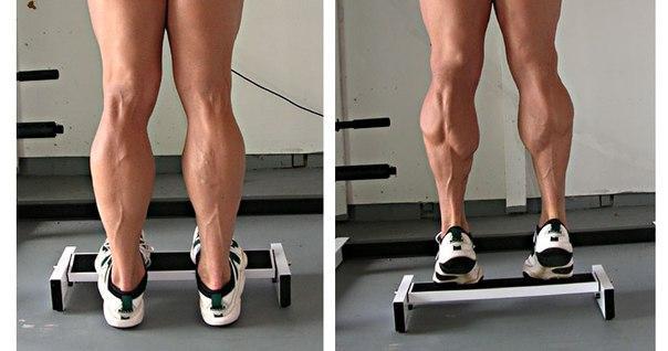 Вариант упражнения с низкой скамьей