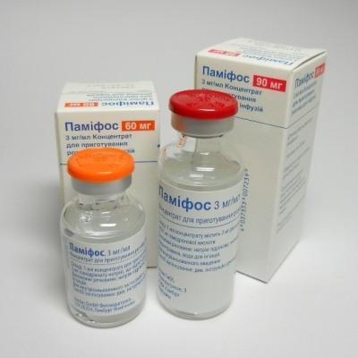 Основное действующее вещество памидроновая кислота