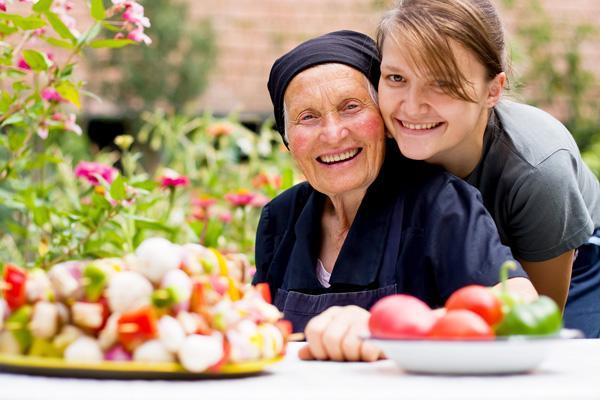 Правильное питание пожилых людей