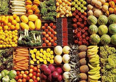 Фрукты и овощи нужно включить в рацион