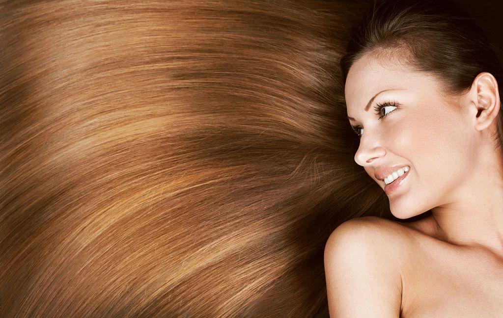 Красивые густые волосы после курса лечения