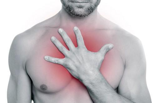 Боль в грудине посередине при вдохе - описание симптоматики