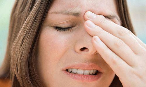 Импульсная головная боль, головокружение