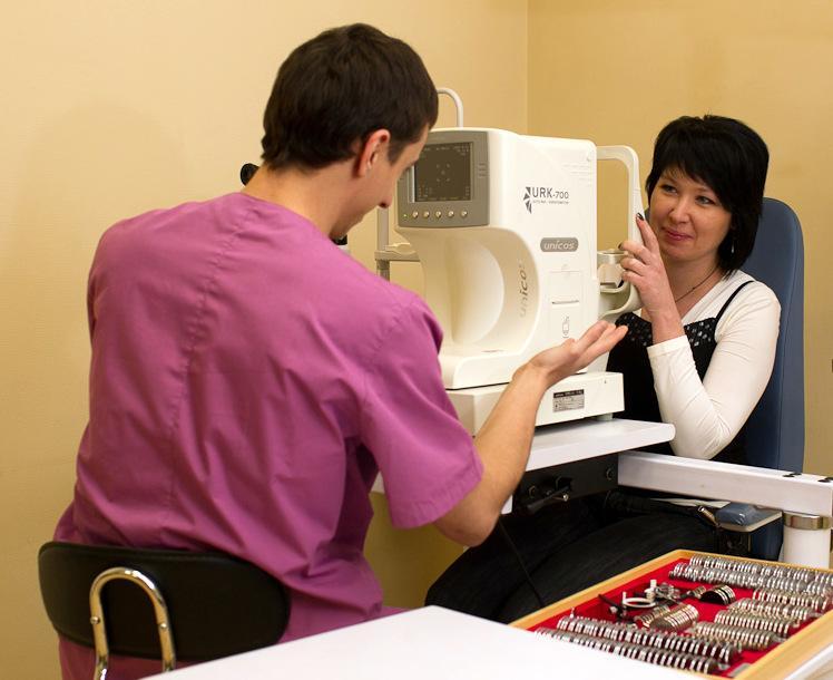 Лечение проходит под строгим контролем офтальмолога