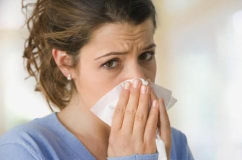 Простудные прыщи в носу