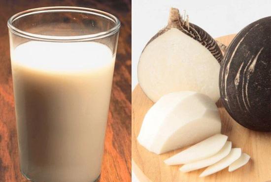 Редька с молоком и медом