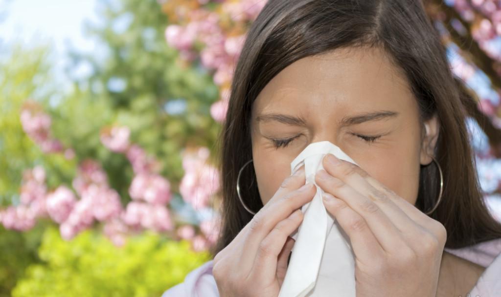 Чихание может быть признаком аллергического ринита
