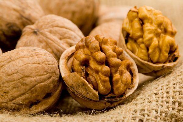 Грецкий орех способствует быстрому затягиванию язвы