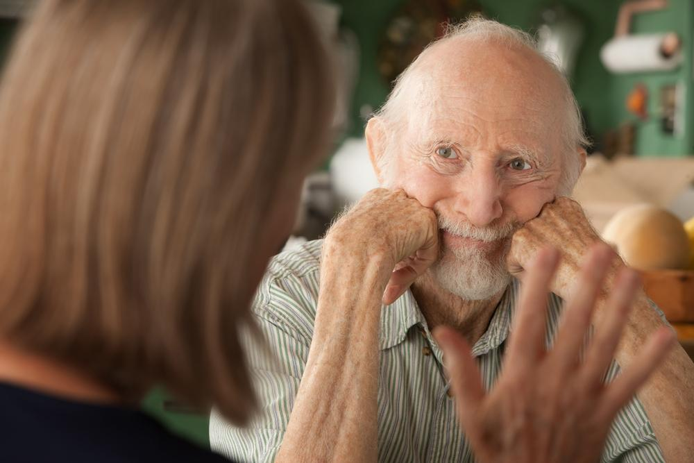 Деменция может вызывать замедленную речь