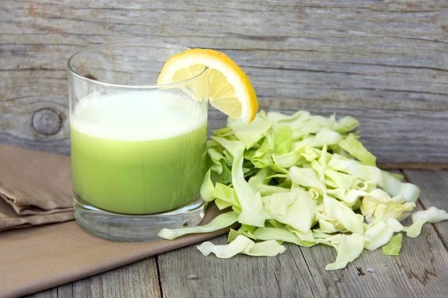 Капустный сок ускоряет процессы рубцевания язвы