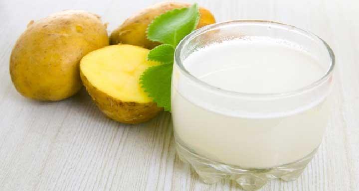 Картофельный сок помогает уничтожить болезнетворные микроорганизмы