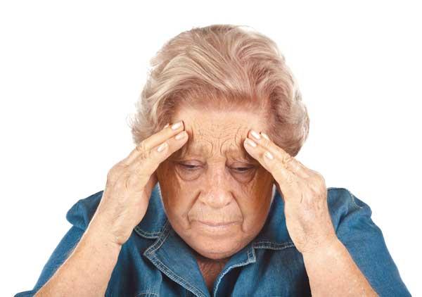 Ослабление умственных способностей - последствие инсульта
