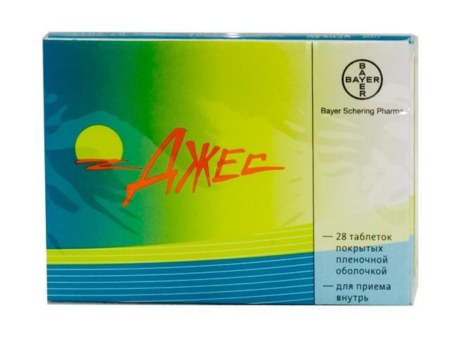 Джес являются самыми популярными гормональными таблетками от прыщей