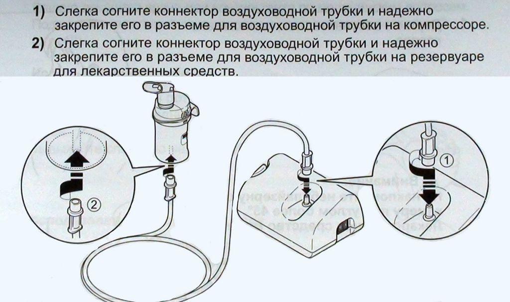 Как правильно пользоваться небулайзером