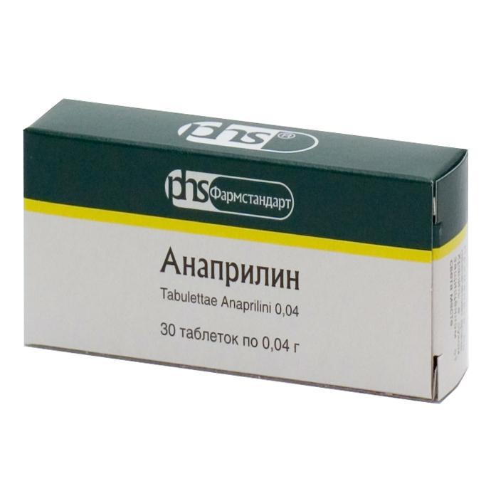 Препарат Анаприлин высоко эффективен для снижения ЧСС