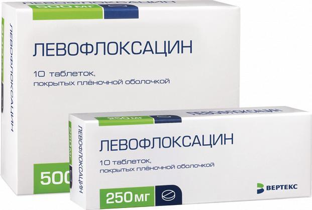 Препарат Левофлоксацин для лечения бронхита