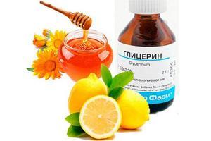 Лимон с глицерином подходит для пациентов любого возраста
