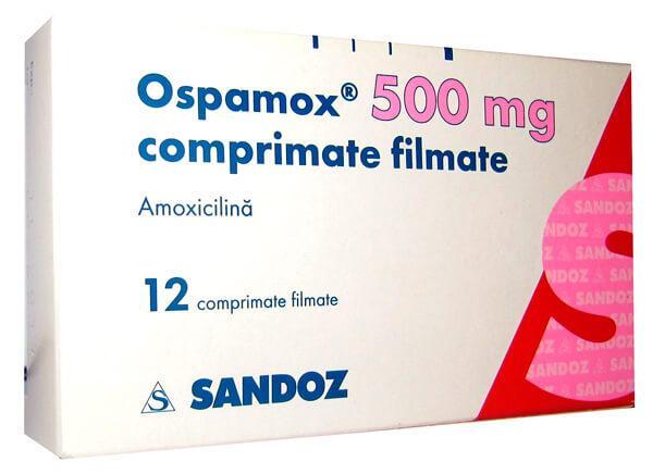 Препарат Оспамокс в таблетированной форме