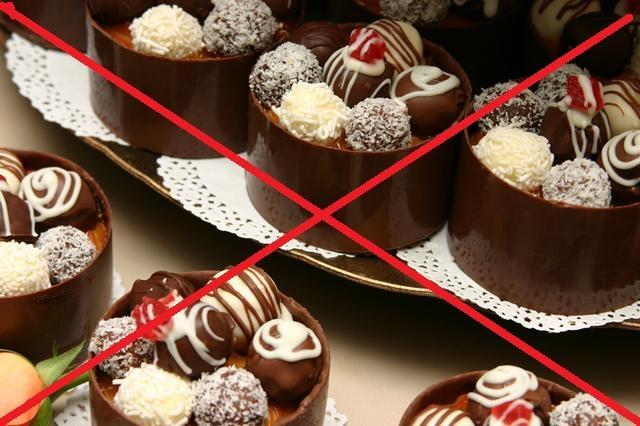 При атопическом дерматите необходимо исключить все сладкое