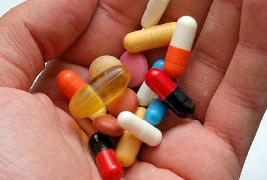 Анальгетики и антибиотики - медикаментозная терапия