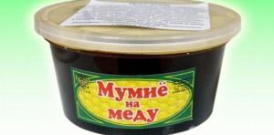 Готовая смесь мумие с медом