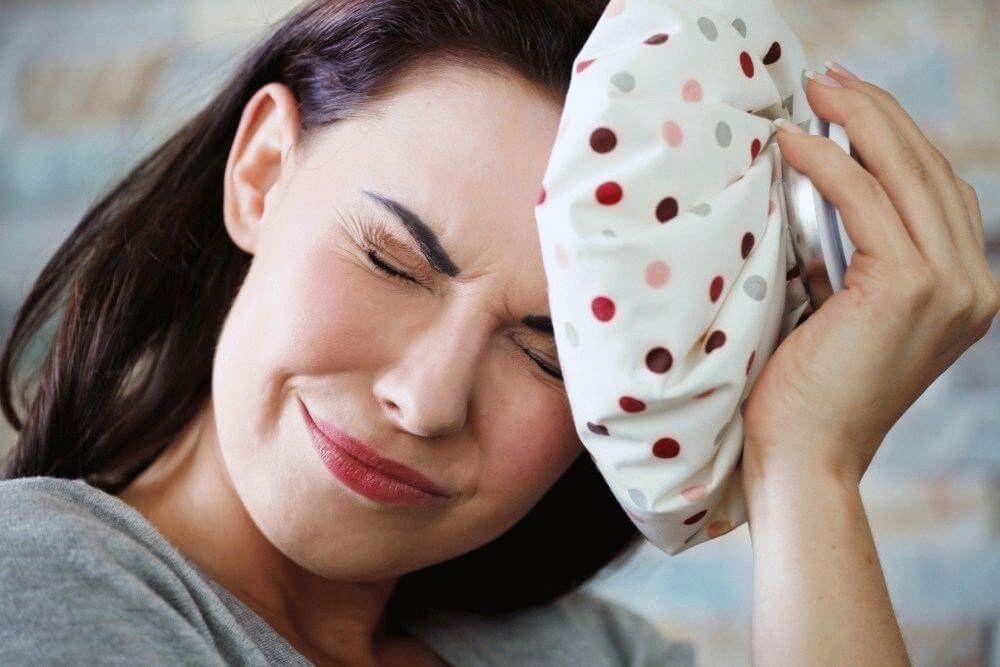 Жгучая головная боль