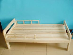 Жесткая деревянная кровать для детей со сколиозом