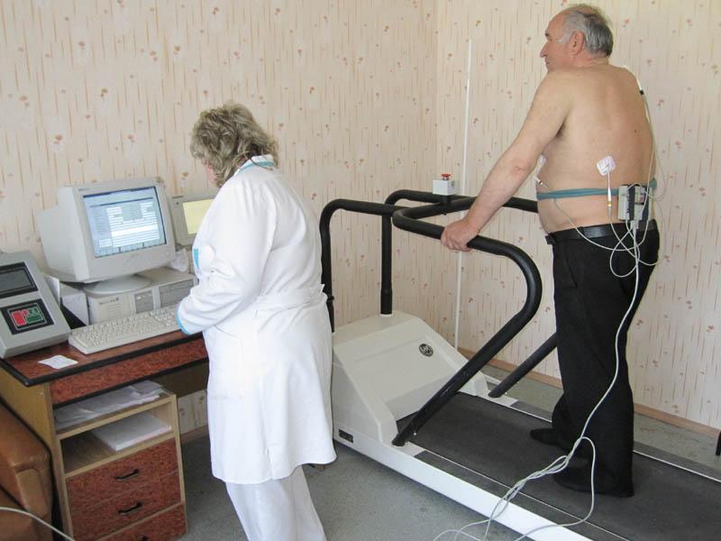 Занятия для перенесших инфаркт