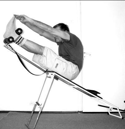 Занятия при остехондрозе на тренажере
