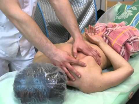 Лечебный массаж при остеохондрозе